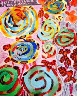 Buttonhole Flowers - aRDart