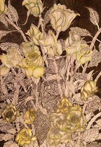 Maia's Yellow Roses - aRDart