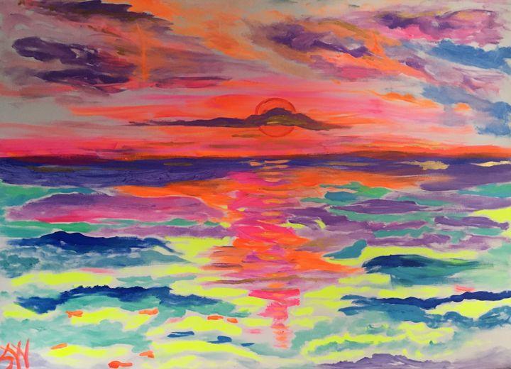 Belize Sunrise - Sharon Worley