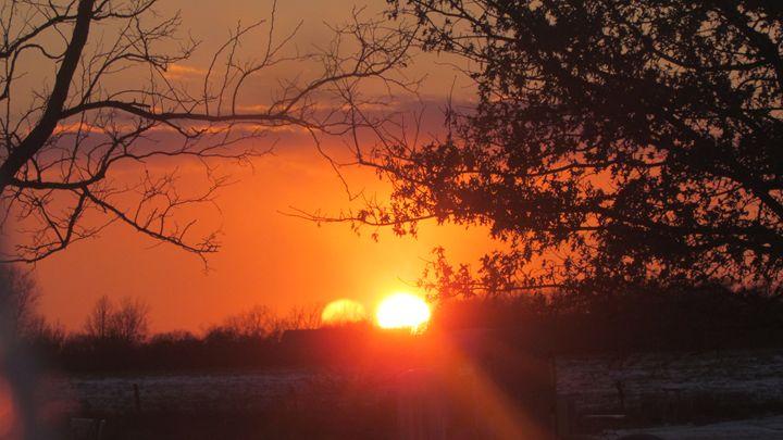 Fire Sunset - Kali's Moments