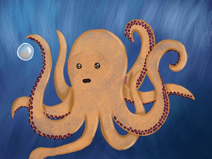 An Octopus's Dream -  Pandachannnnn