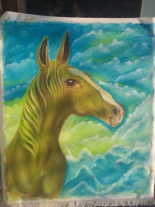 con ngua horse - Đào Quốc Thịnh