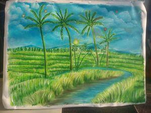 scenery vietnam, Màu xanh yên bình