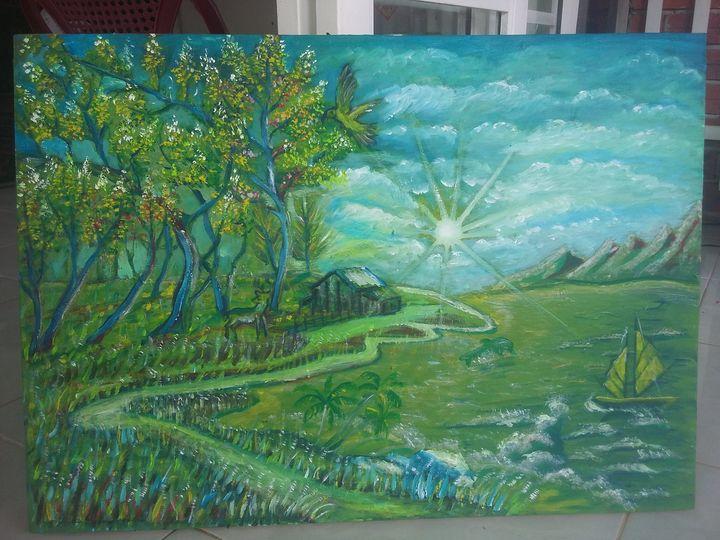 Phong cảnh thiên nhiên - Đào Quốc Thịnh