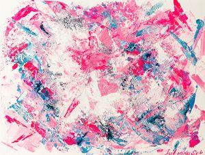 Be Happy - Original Abstract Art