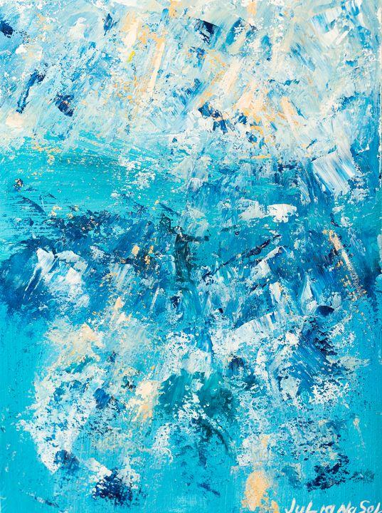 Krystal - Original Abstract Art - JulianaSol