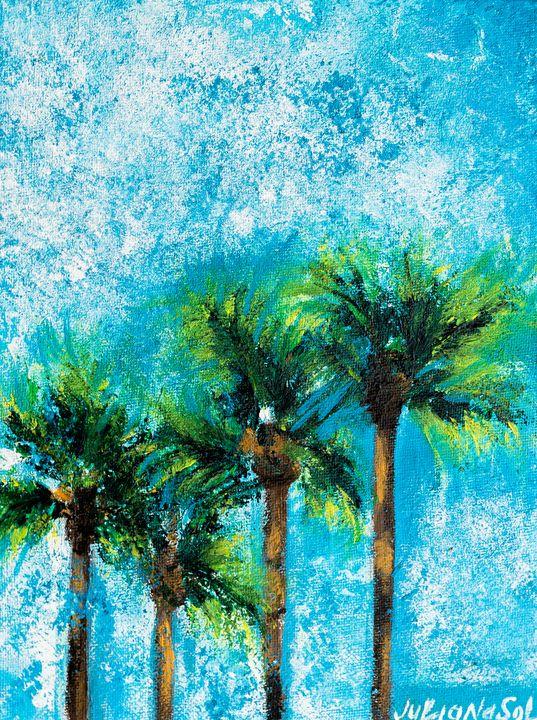 Palms in the Sky - JulianaSol