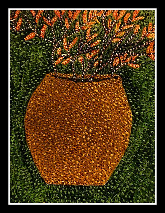 Still Life-Pointillism style - Ganesh Kelagina Beedu Shenoy