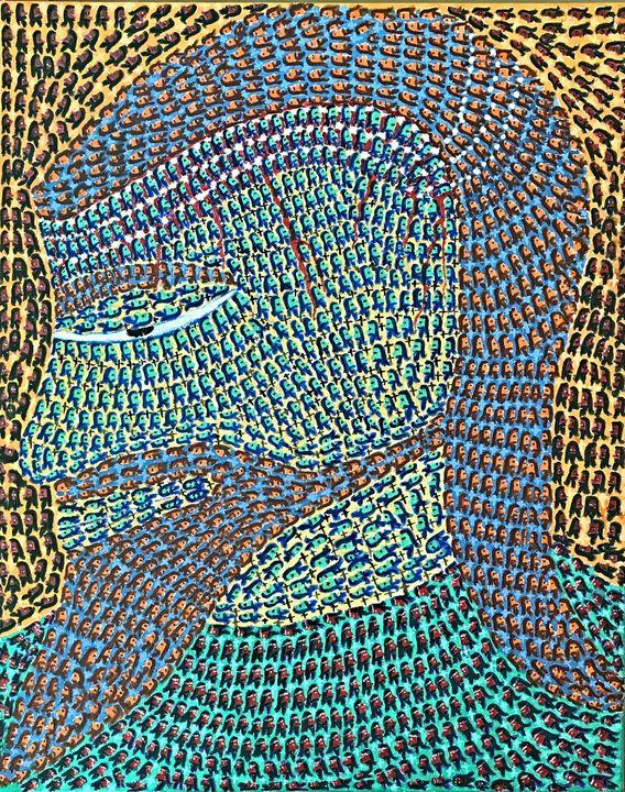 Optical Illusion - Lord Jesus - Ganesh Kelagina Beedu Shenoy