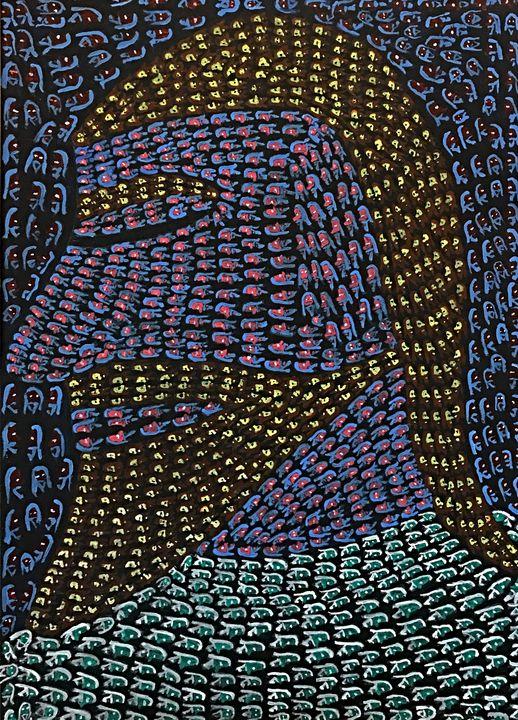 Optical Illusion - Jesus - Ganesh Kelagina Beedu Shenoy