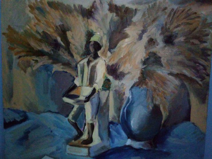 Painting - Yoyo