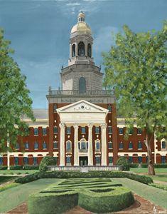 Baylor university, Pat Neff Hall. - Stacey Shuch