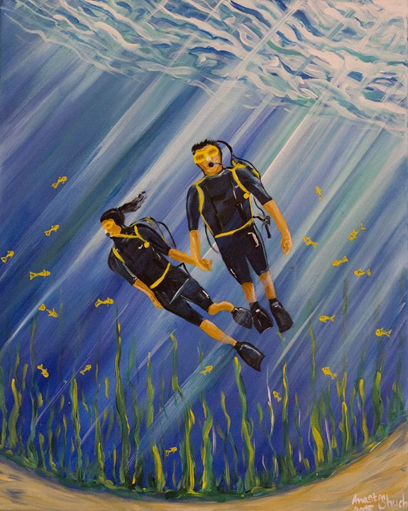 Divers in love - Stacey Shuch
