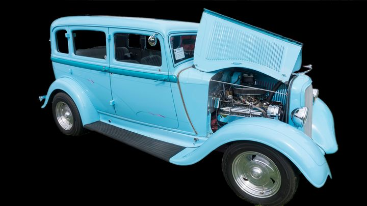 1933 Plymouth - Cathy L. Anderson