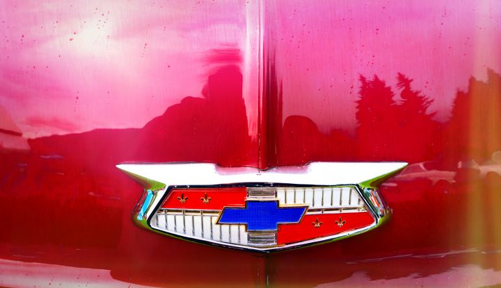 Classic Chevy Emblem - Cathy L. Anderson