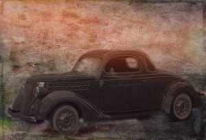 1936 Ford Grunge