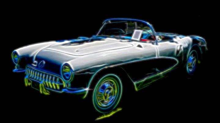 1957 Corvette - Cathy L. Anderson