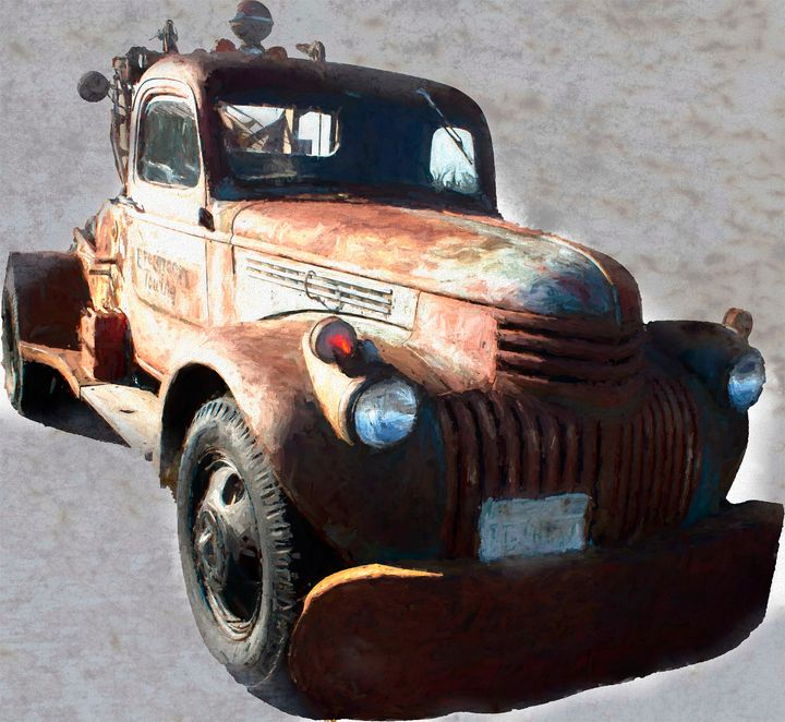 This old Tow Truck - Cathy L. Anderson