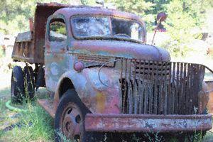 Junkyard Find Old Truck