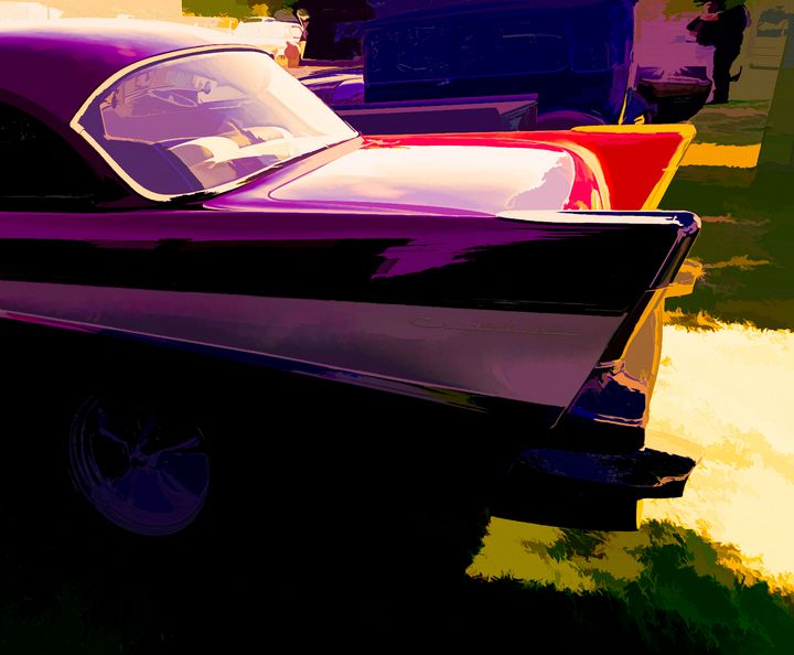 Chevy Fins - Cathy L. Anderson