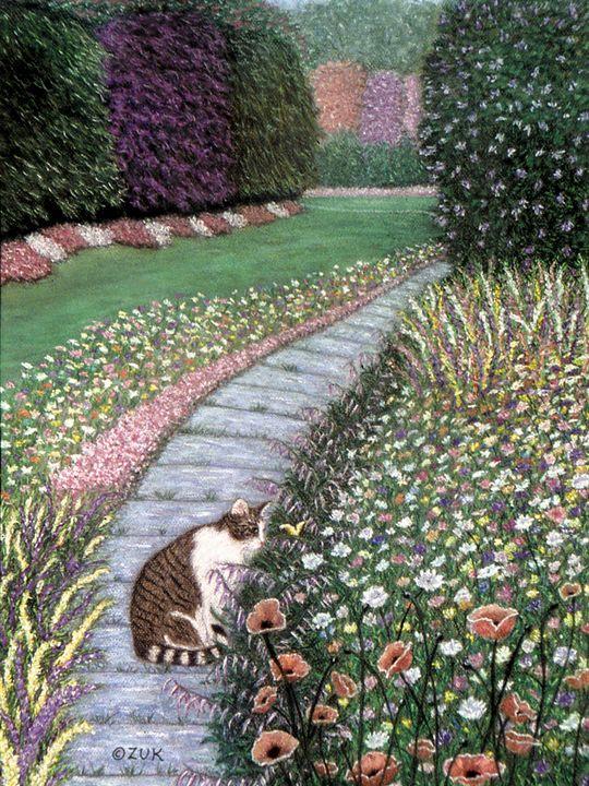 Garden Delights I - Art by Karen Zuk Rosenblatt