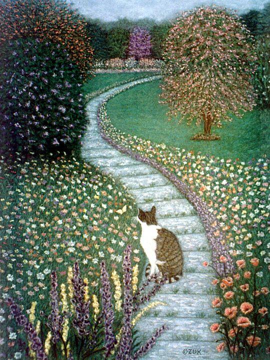 Garden Delights II - Art by Karen Zuk Rosenblatt