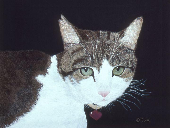 Best Cat - Art by Karen Zuk Rosenblatt
