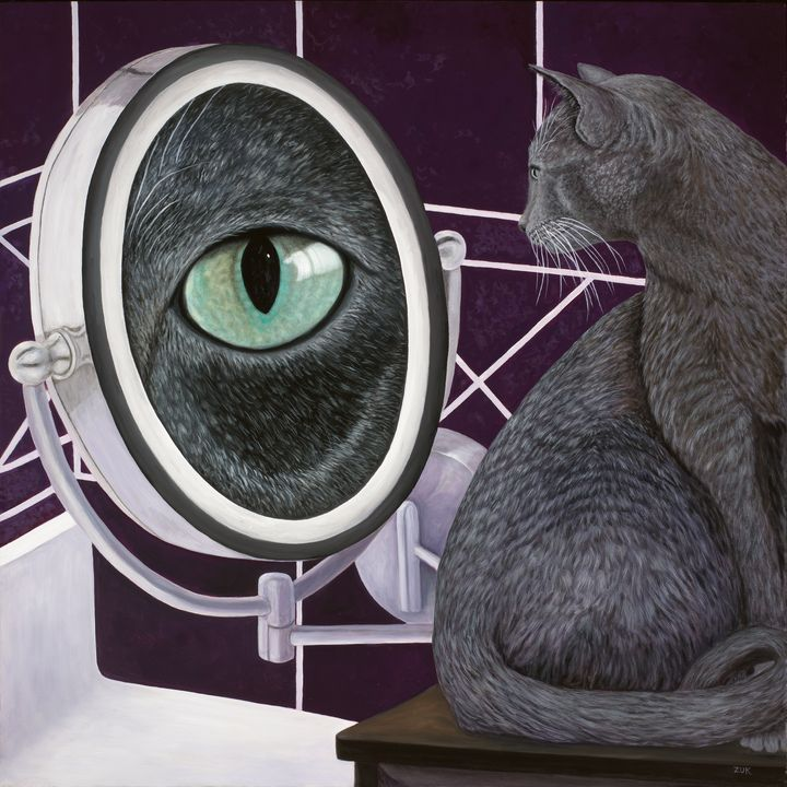 Eye See You - Art by Karen Zuk Rosenblatt