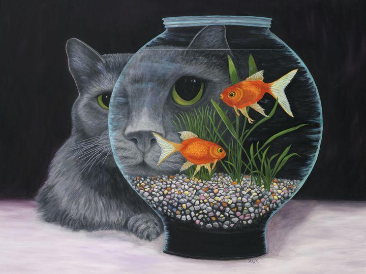 Eye to Eye - Art by Karen Zuk Rosenblatt