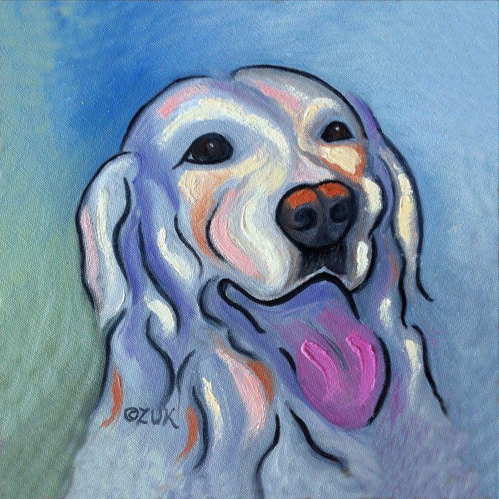 Labrador Retriever - Art by Karen Zuk Rosenblatt