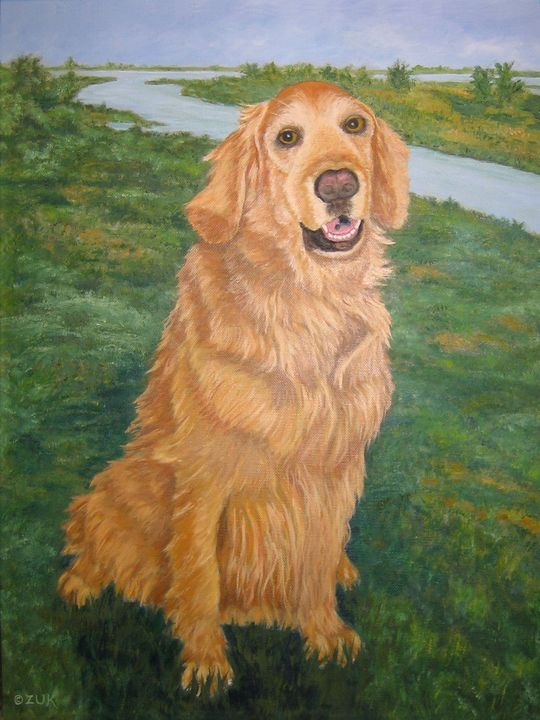 Golden Kasey - Art by Karen Zuk Rosenblatt
