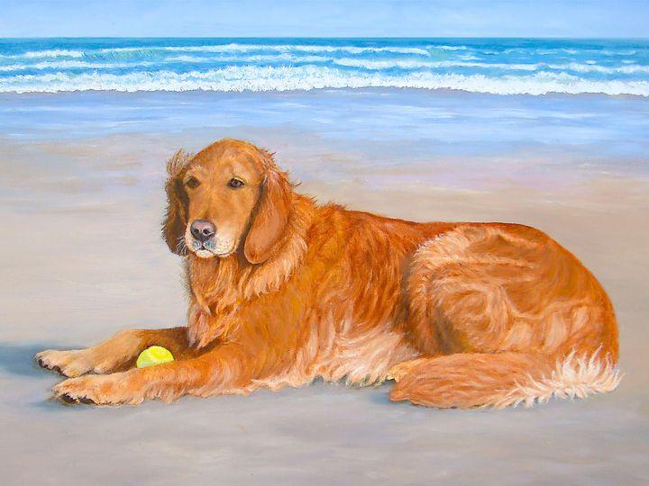 Golden Murphy - Art by Karen Zuk Rosenblatt