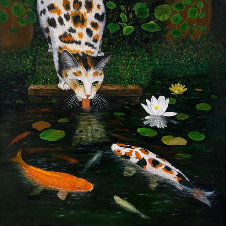 Kinship - Art by Karen Zuk Rosenblatt