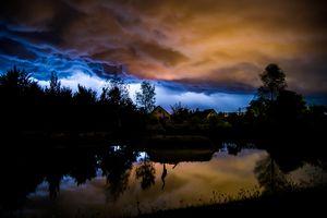 Roaring Sky on Soothing Lake