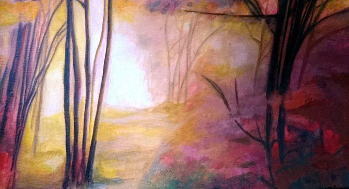 Vibrant Forest - Mahan Salavati