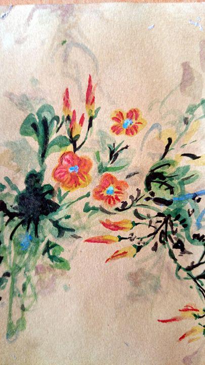Persian Flowers - Mahan Salavati