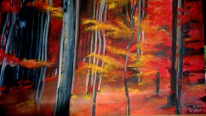 Fiery Woods