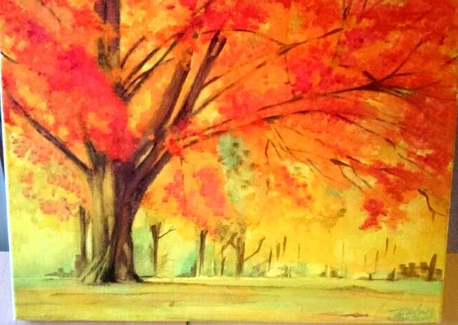 Autumn Tree - Mahan Salavati