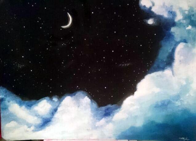 Moonlight Sky - Mahan Salavati