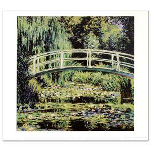 """Monet (1840-1926), """"White Waterlilie"""