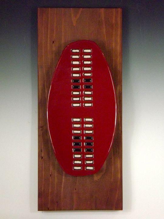 Tribal Shield Ceramic Art Tile #5 - Pacifica Tiles
