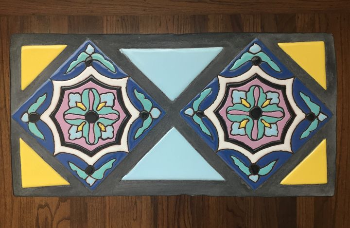 Tile Top Table #6 - Pacifica Tiles