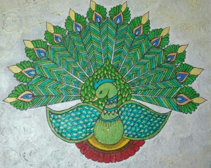 Green Peacock - Bhuvaneswari G