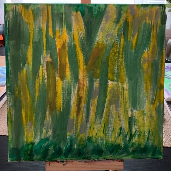 Trees - Linda's painting