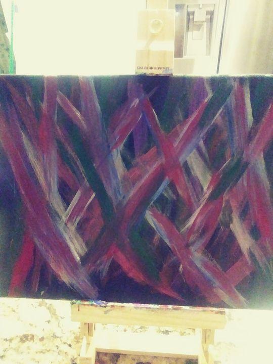 Feeling lost - Linda's painting