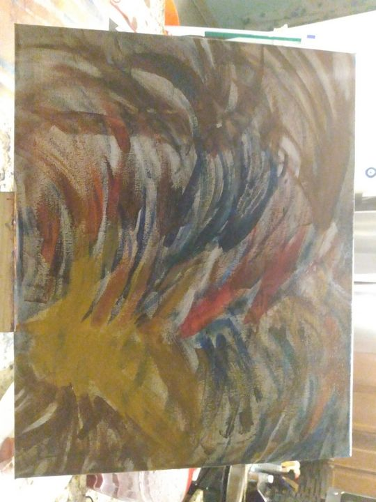 Expression - Linda's painting