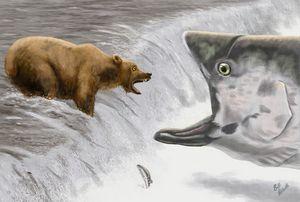 Bear Irony - Art by Bill Abbott