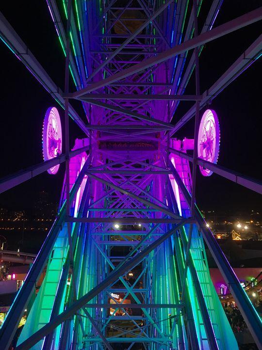 """Ferris wheel"" - River's Art"
