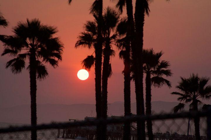 """Red sun"" - River's Art"