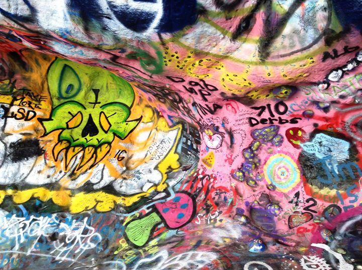"""The Jim Morrison caves"" - River's Art"
